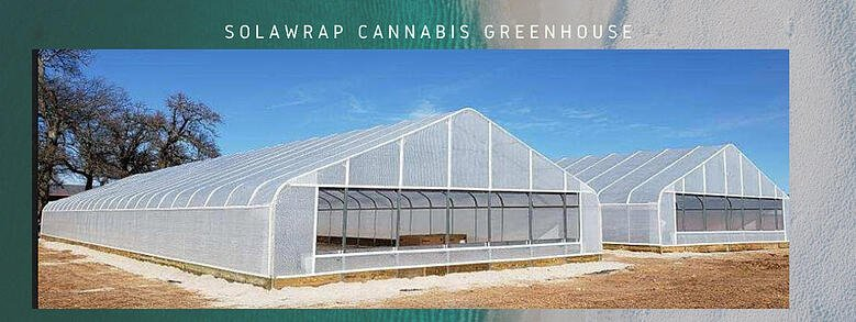 Cannabis greenhouse Solawrap