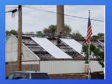 Easy Installation of Greenhouse plastic SolaWrap