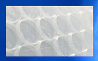 Engery saving greenhouse plastic solawrap bubble film