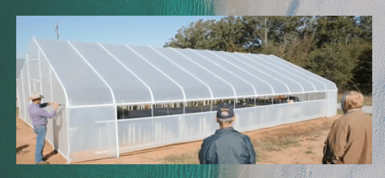 Greenhouse Covering Bubble film SolaWrap