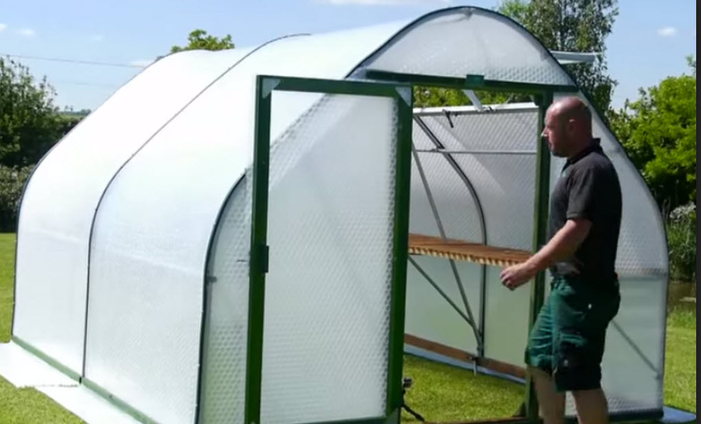 Greenhouse install complete14