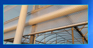 Greenhouse ventilation SolaWrap Side curtains!