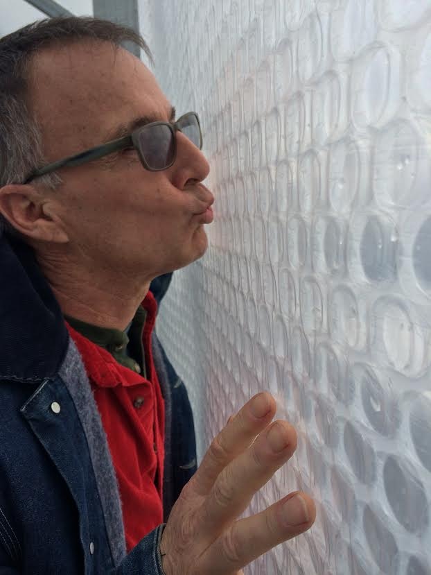Mark Fortemeyer kissing SolaWrap