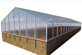 SolaWrap Greenhouse building