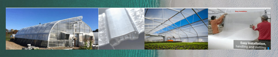 SolaWrap Greenhouse plastic sheeting covering