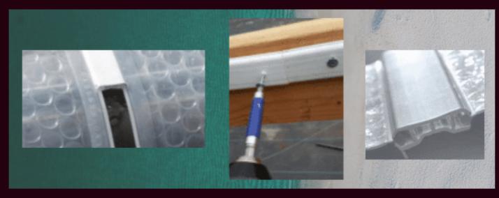SolaWrap Greenhouse Plastic Connectors